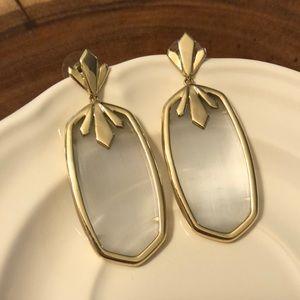 Vintage Kendra Scott Drop Earrings in Slate